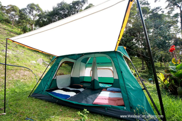 The Ara Peak Campsite