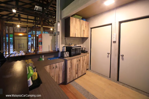 ara_peak_retreat_penang_campsite_Kitchen_area_malaysia_car_camping