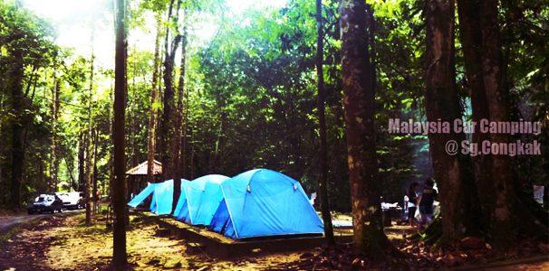 Sungai Congkak Recreation Park Car Camping