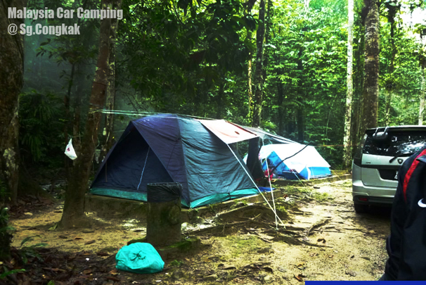 Sungai Congkak Recreation Park Car Camping
