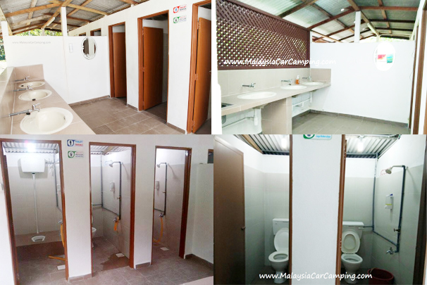Separate male and female toilet facilities with wash basin, flush toilet, shower and washing facilities, in case you run out of clean clothing! Very clean toilet, and the owner fix the water heater after we suggest to him, really appreciated for it.