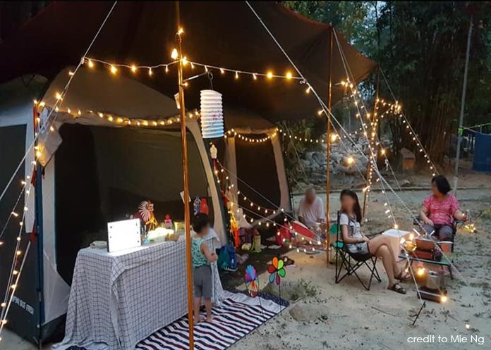 Hutan Lipur Ulu Bendul Campsite