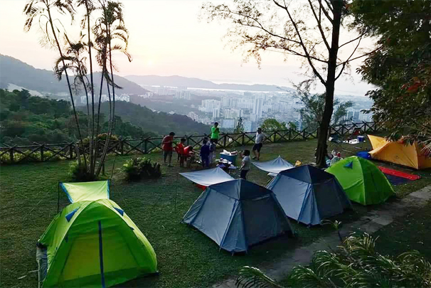 The Hill Relaxing Camp Penang