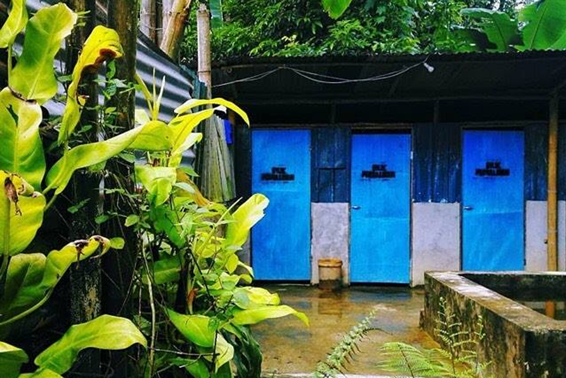 Toilet @ Perkhemahan dan Chalet Sungai Bil Cool Spring