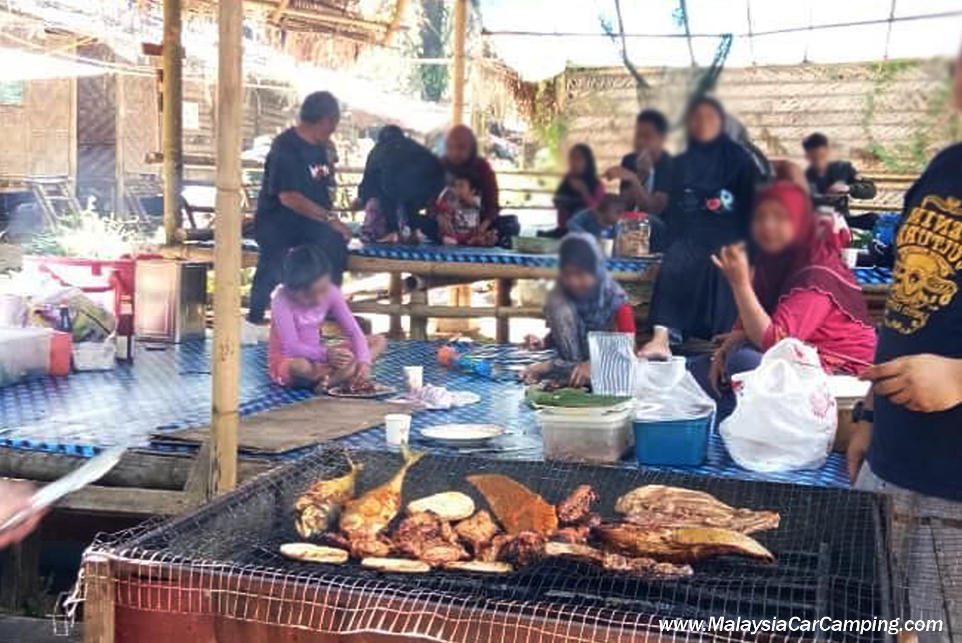 BBQ @ Perkhemahan dan Chalet Sungai Bil Cool Spring