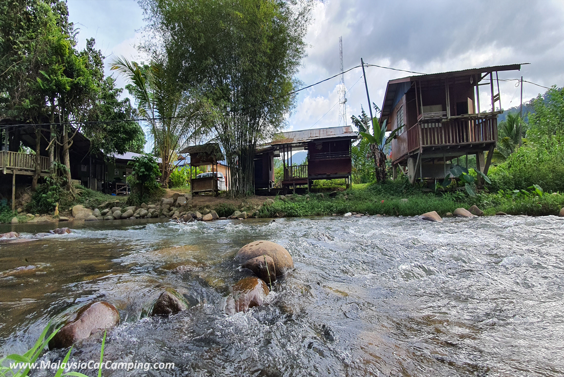 Dangau Tahza Campsite @ Janda Baik