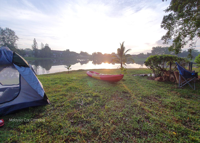 Sepang Lakeside Camping