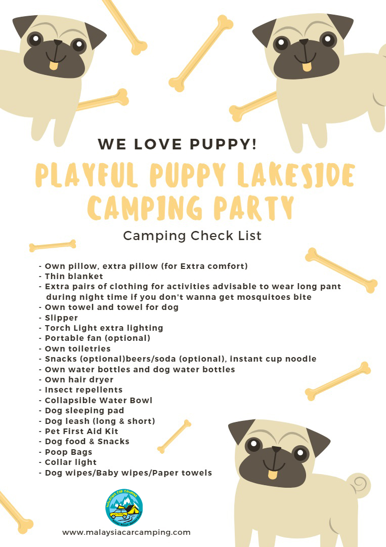 playful_puppy_lakeside_camping_party_Camping_packing_list_dog_camping_malaysia_car_camping_mcc_outdoor