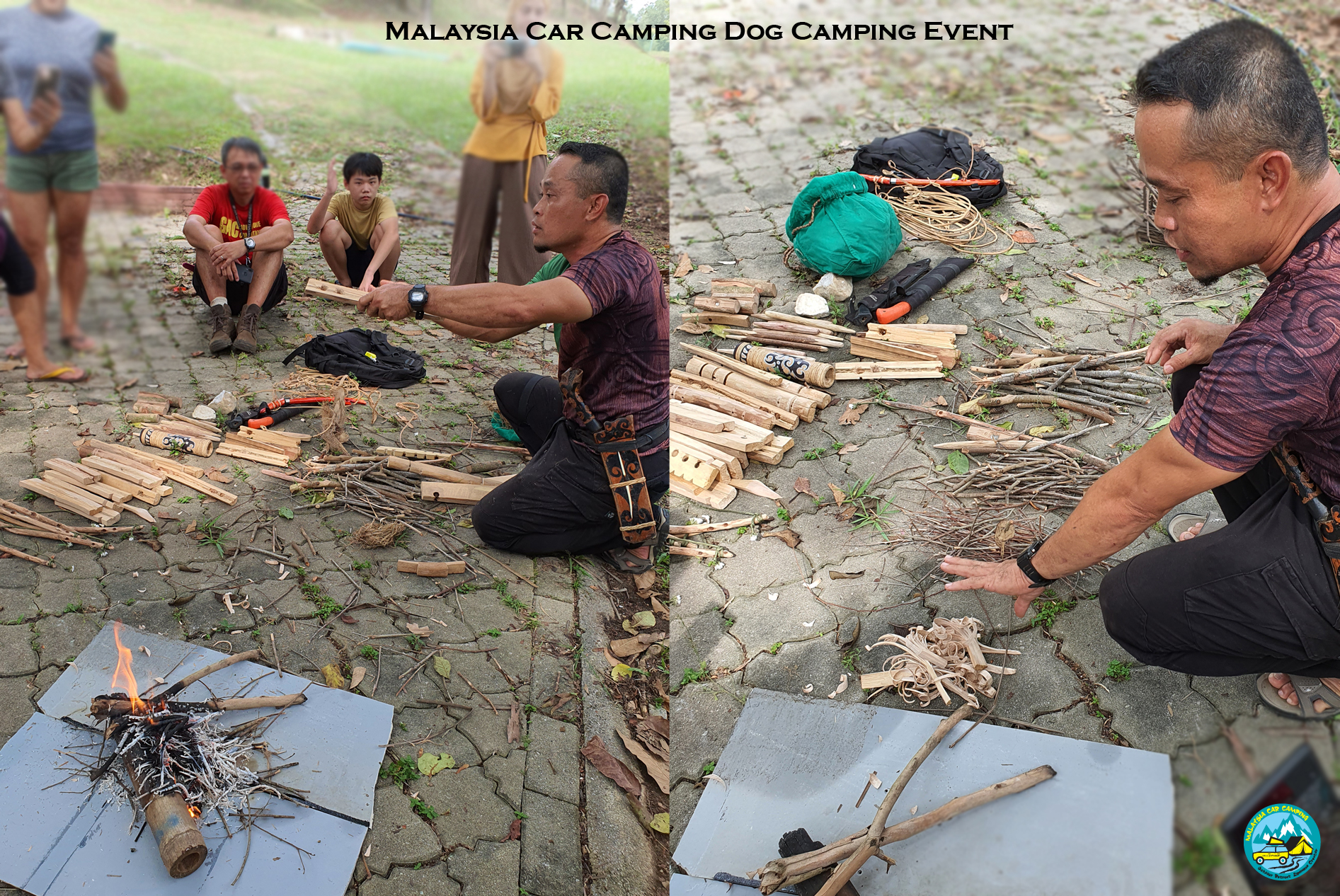 besic_start_fire_in_the_wilds_course_programme_dog_camping_event_dog_lover_selangor_camping_site_malaysia_car_camping_private_event_organizer-2