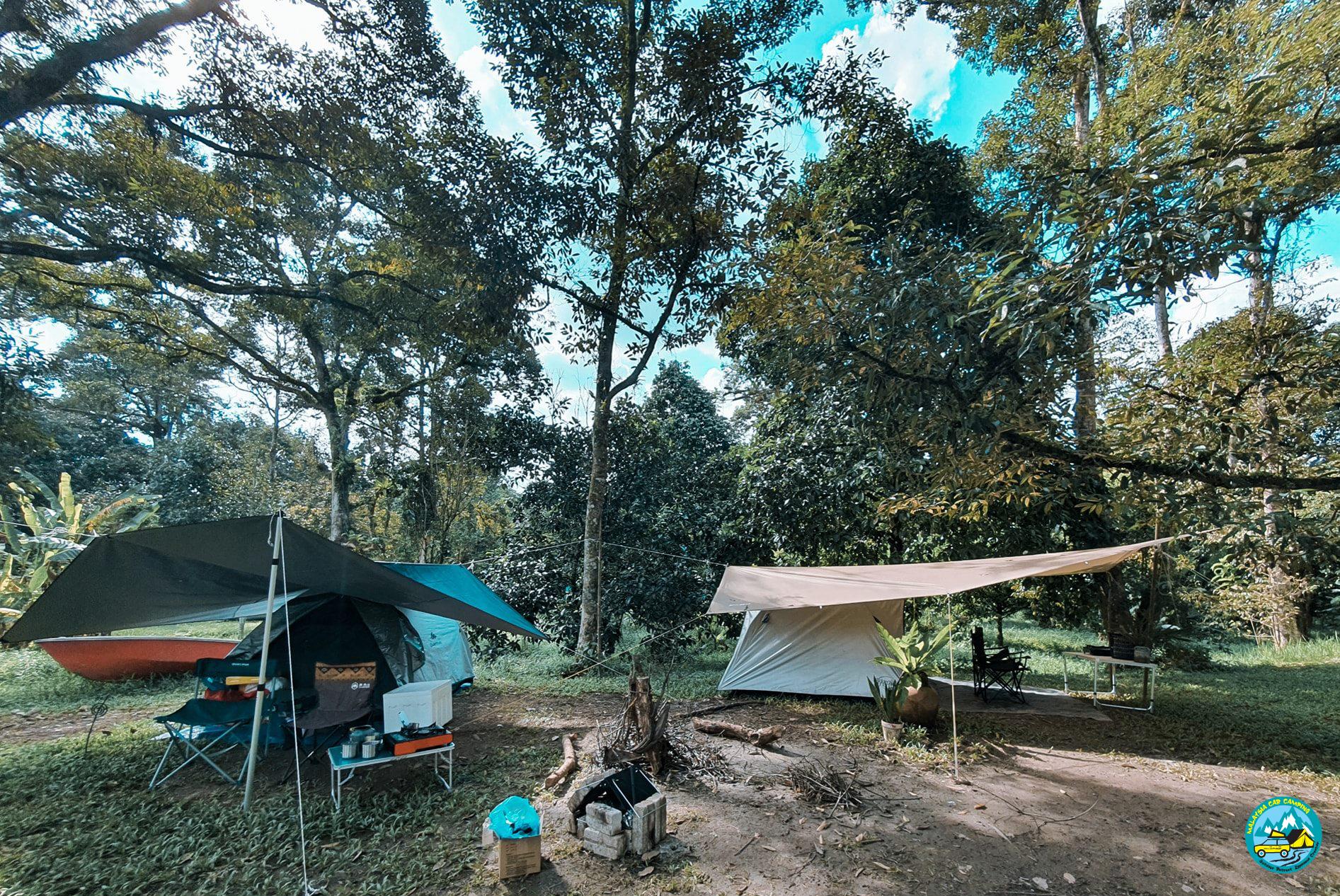 xmas camping at Hammock By The River